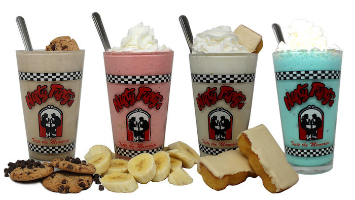 The Top Milkshake Flavors At Nifty Fifty's