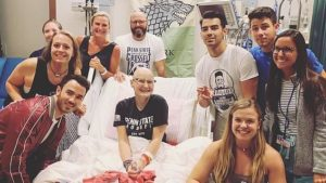 Jonas Brothers Visit Fan in Hospital Before Hershey Concert