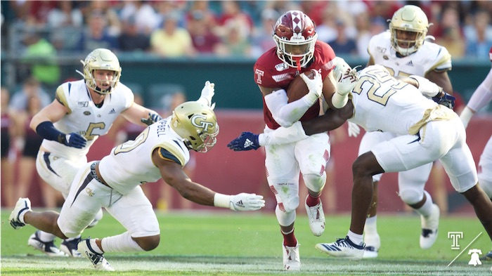Temple Owls Bounce Back With Win Against Georgia Tech