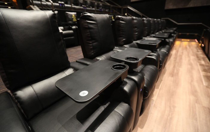 A New Dine In Theater built in the Fashion District