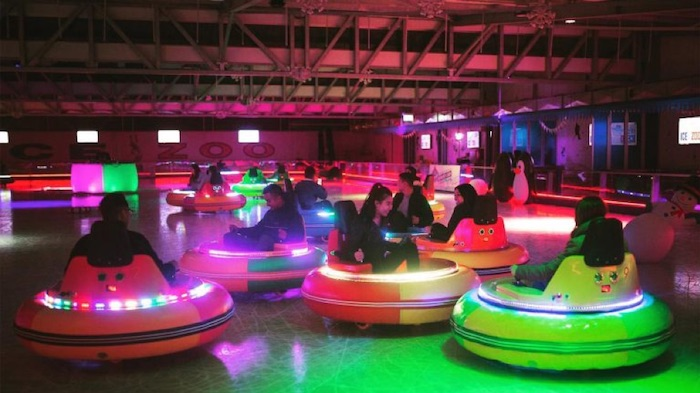 Bumper Cars on Ice is Coming to Philly