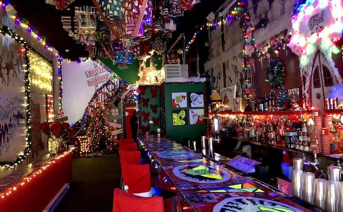 Get Jolly at Tinsel, Philadelphia Iconic Christmas Bar