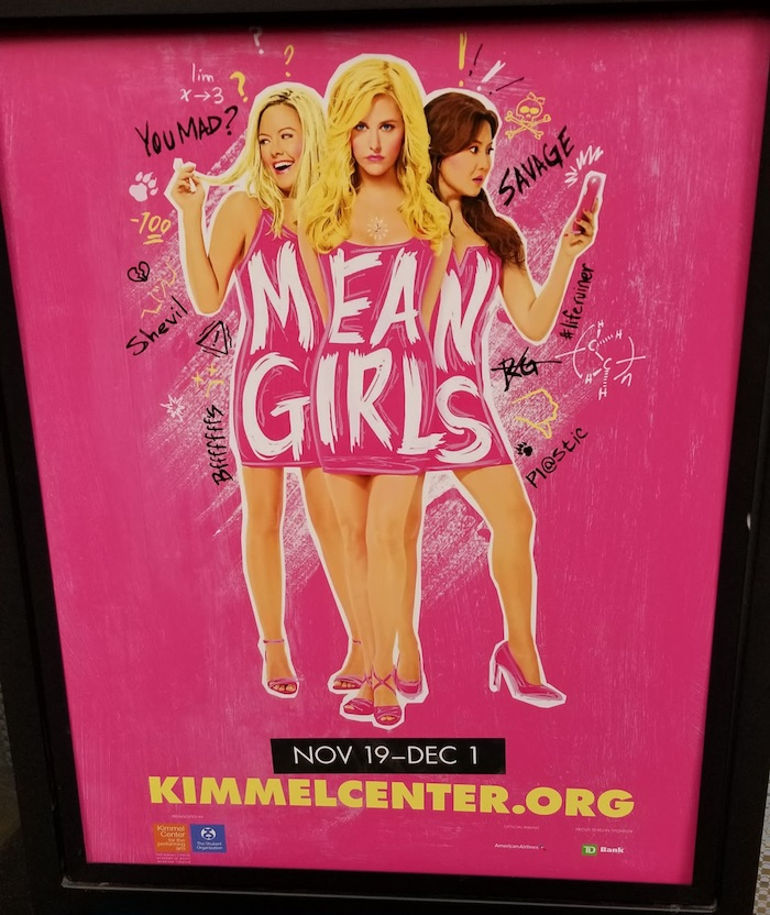 Mean Girls The Musical Review - Poster
