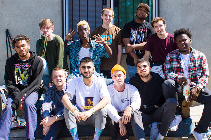 New Age Hip-Hop Catch Brockhampton in Philly