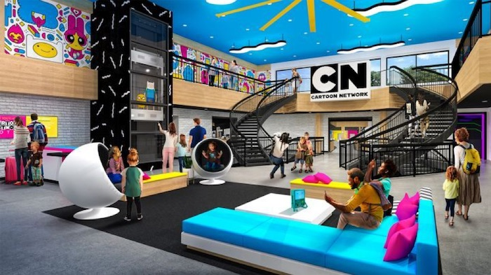 Cartoon Network Hotel Opens in Lancaster