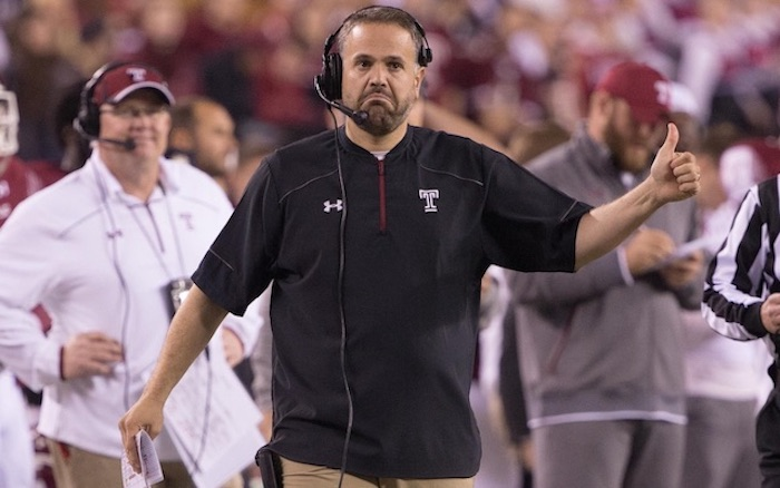 Former Temple Coach, Matt Rhule Heads to National League