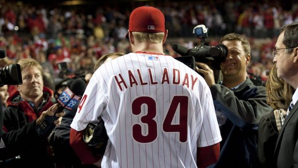 Phillies to retire Roy Halladay's Number
