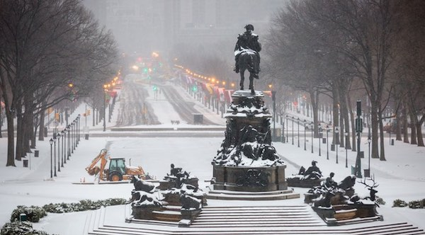 It's Been More Than a Year Since Philly Has Shoveled Snow