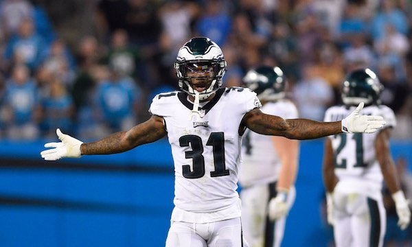 Joining Darius Slay will be returning defensive players Rodney McLeod and Jalen Mills.