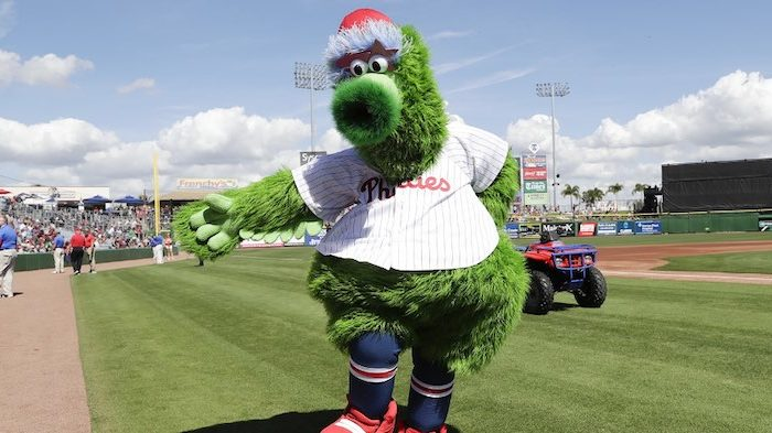 The Phillie Phanatic Won't Be Allowed On the Field As Baseball Comes Back