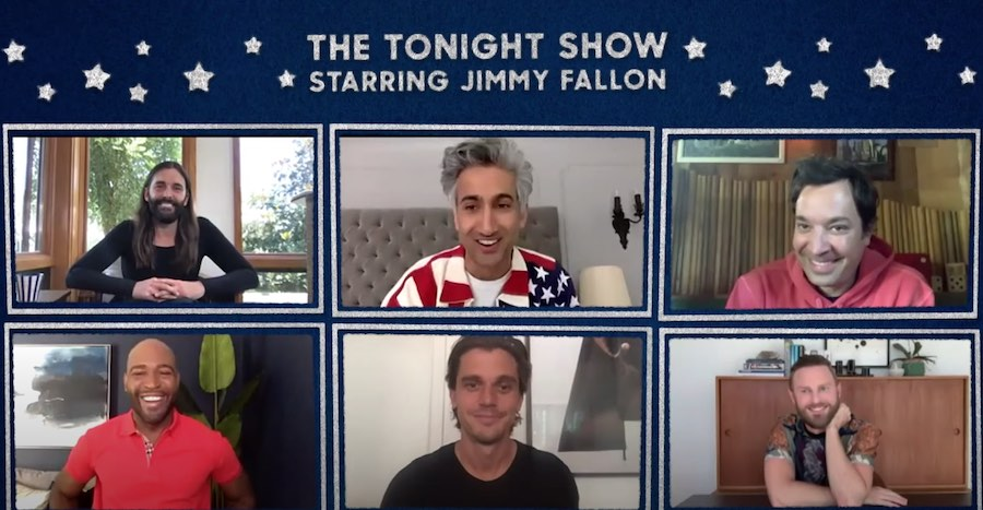 Queer Eye Cast On Jimmy Fallon