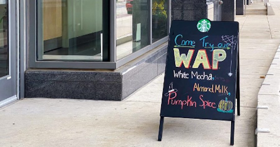 A Philly Starbucks Created a WAP Inspired Drink