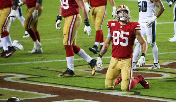 Birds Top 49ers - George Kittle