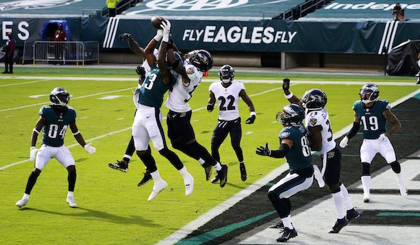 Eagles Fall to Ravens after Furious Second Half Rally - Fulgham Keeps Shining