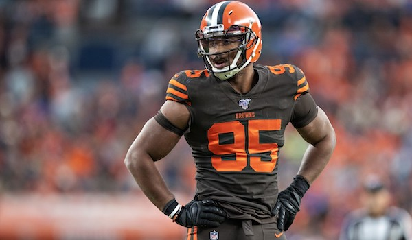 Eagles vs Browns - Myles Garrett