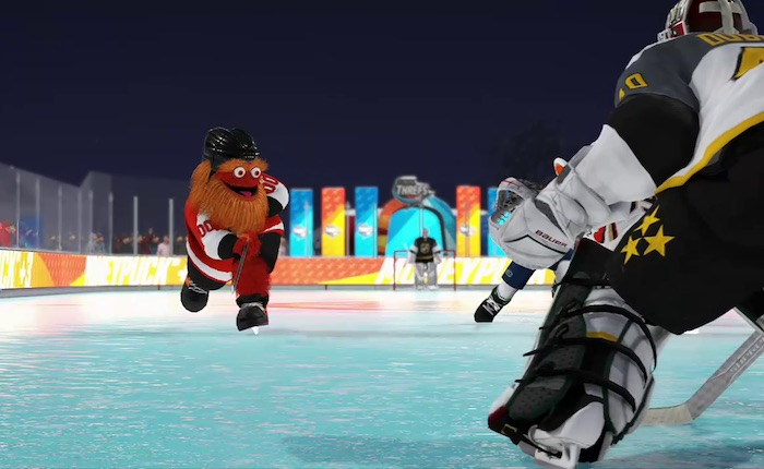 Gritty is now a Character in an NHL Video Game