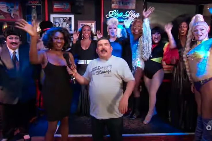 Jimmy Kimmel Live's Guillermo Makes a Pitstop in Philadelphia