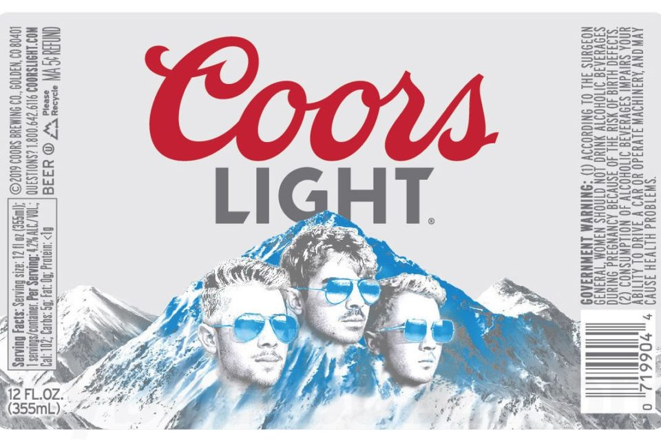 Jonas Brothers Coors Light