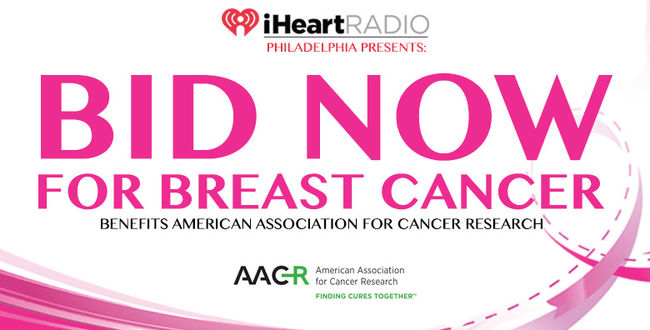 Q102 Luanches 2019 Bid for Breast cancer