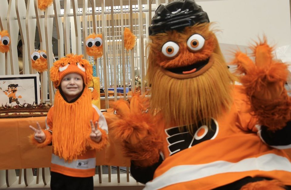 gritty and jack together