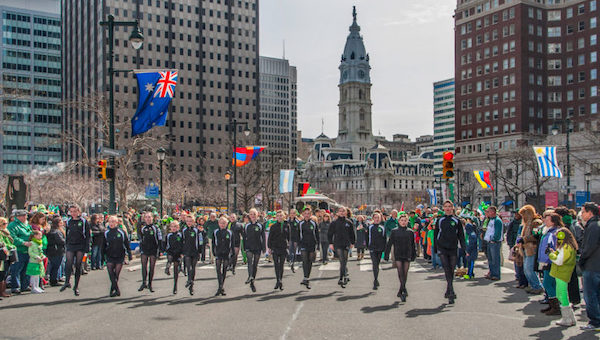 St. Patrick's Day Philly Parade