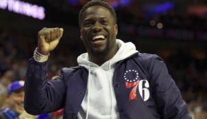 Kevin Hart Donates Food to Philly Elderly
