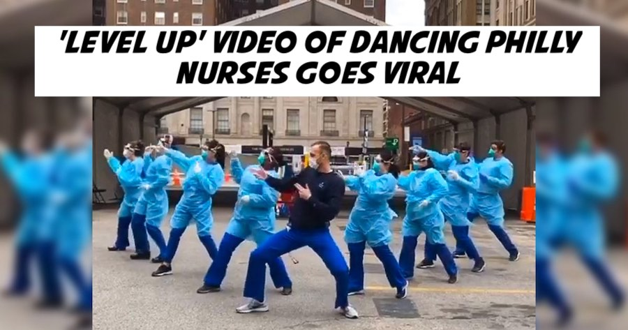 'Level Up' Video of Dancing Philly Nurses Goes Viral