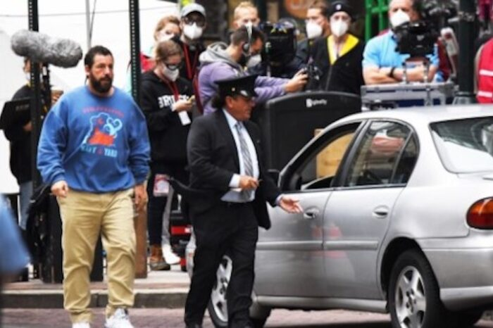 Adam Sandler Is Filming A Movie In Philly