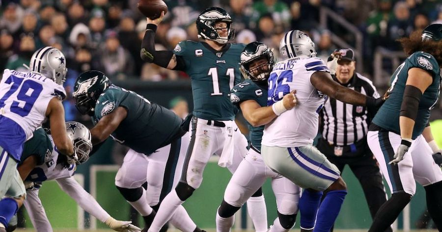 Birds Face Reeling Cowboys; Look to Extend Division Lead