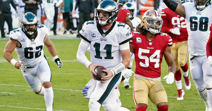 Birds Top 49ers; Take Lead in NFC East