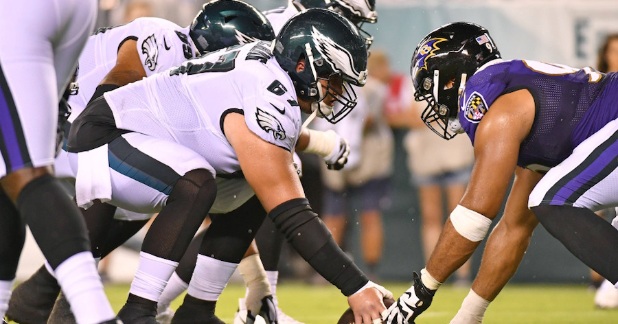 Eagles Face Tall Test Against Ravens in Week 6