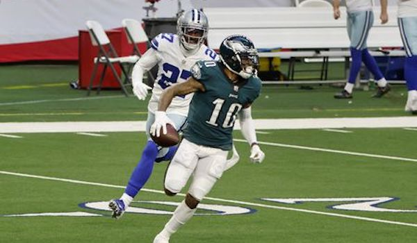Eagles vs Cowboys - DeSean Jackson