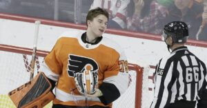 Carter Hart Brings Joy to a Child Fighting Cancer