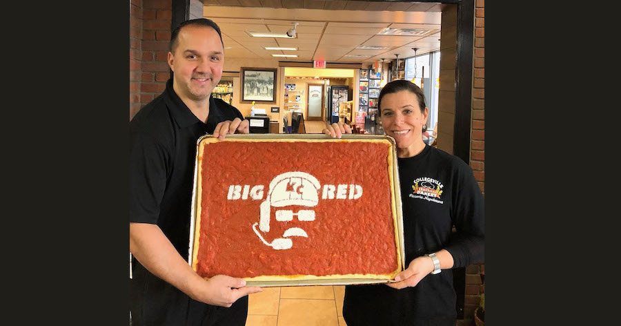 Collegeville Bakery Has a Surprise for Former Eagles Coach Andy Reid