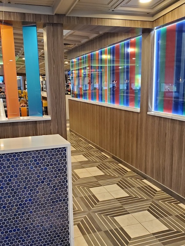 Tiffany's Diner Reopens in the Northeast - Remodeled Interior
