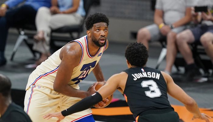 Simmon's Buzzer-Beating Tip-In Brings Sixers Overtime Victory - Joel Embiid