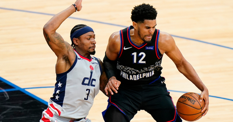 Tobias Drops 37, Leads Sixers in Game 1 Victory