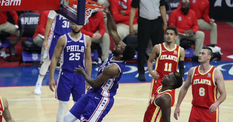 Sixers Even Series Behind Embiid's 40 Points
