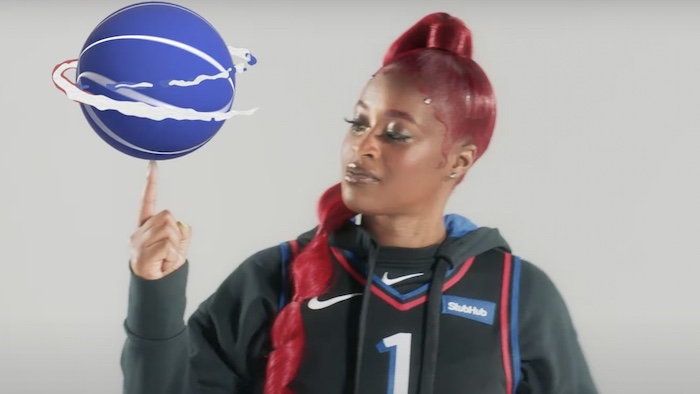 Tierra Whack 76ers Support Video