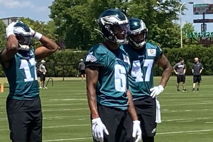 Eagles Rookie DeVonte Smith Slated to Miss 2-3 Weeks with Sprained MCL