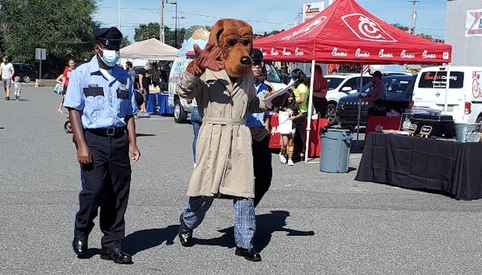7th Police District Hosts Family Fun Day - McGruff The Crime Dog
